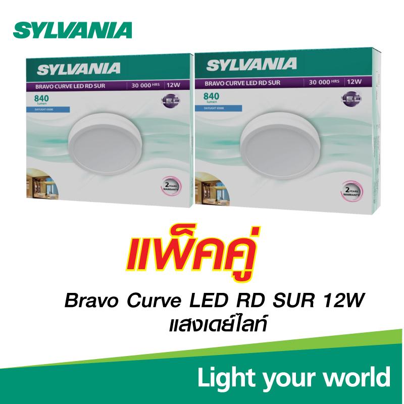 Bravo Curve LED RD SUR 12W 6500K (Pack 2)