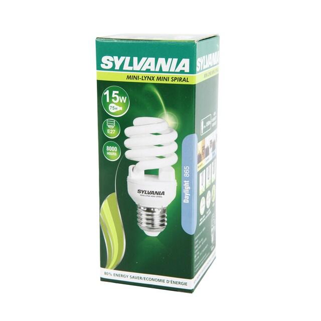SYLVANIA หลอดประหยัดไฟ MINILYNX MINI SPIRAL 15W L แสงเดย์ไลท์