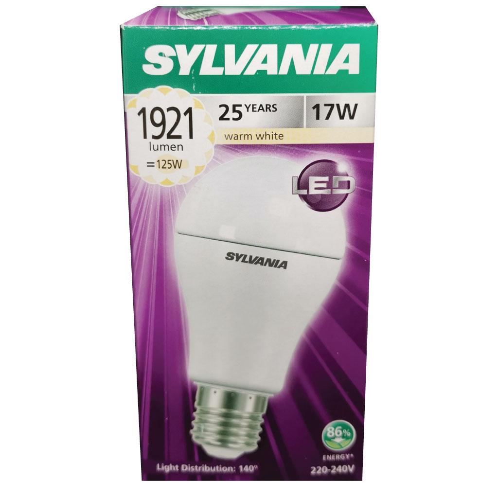 SYLVANIA หลอดไฟ LED ECO ToLEDo A60 17W E27 2700K  (แสงวอร์มไวท์)