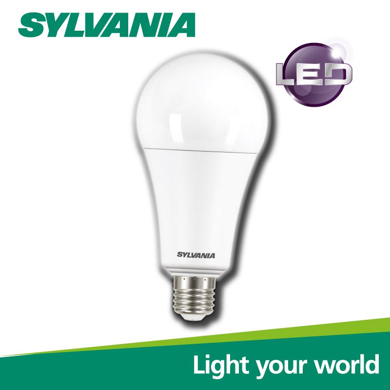 [Pack 2 ] SYLVANIA หลอดไฟ LED  ECO ToLEDo A67 18W E27 V2  แสงวอร์มไวท์