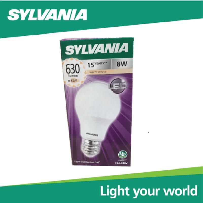 SYLVANIA หลอดไฟ  ToLEDo A60 8W E27 2700K แสงวอร์มไวท์ 15,000 Hrs,