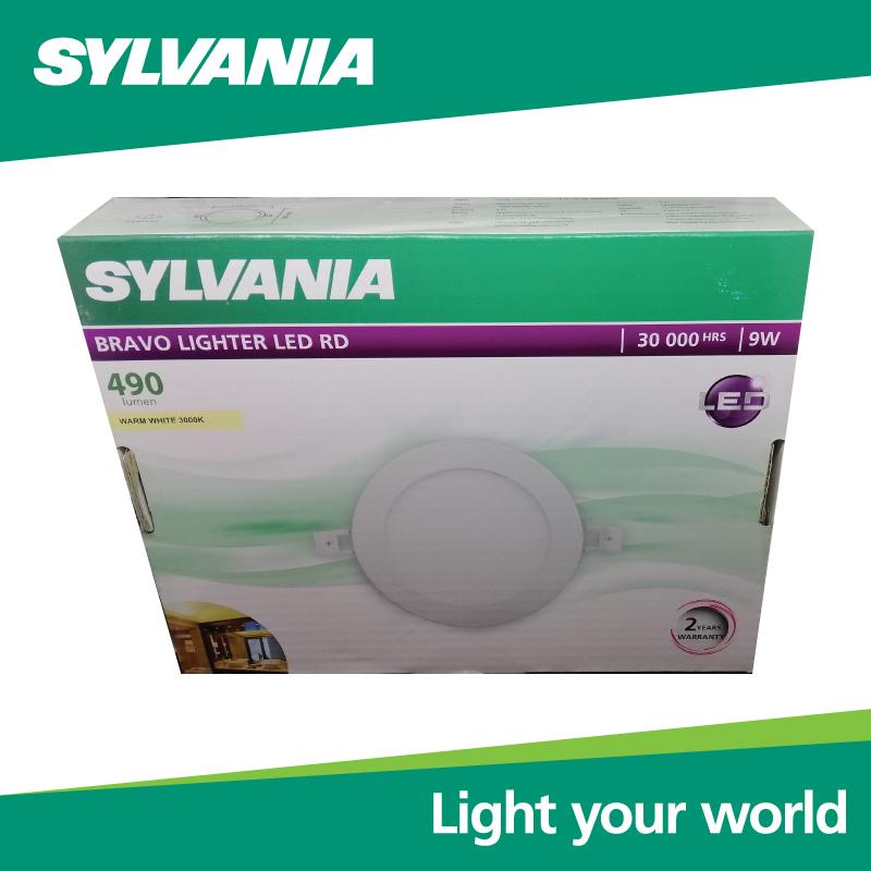 SYLVANIA  ดาวน์ไลท์ BRAVO LIGHTER LED RD _9 วัตต์ (แสงวอร์มไวท์)