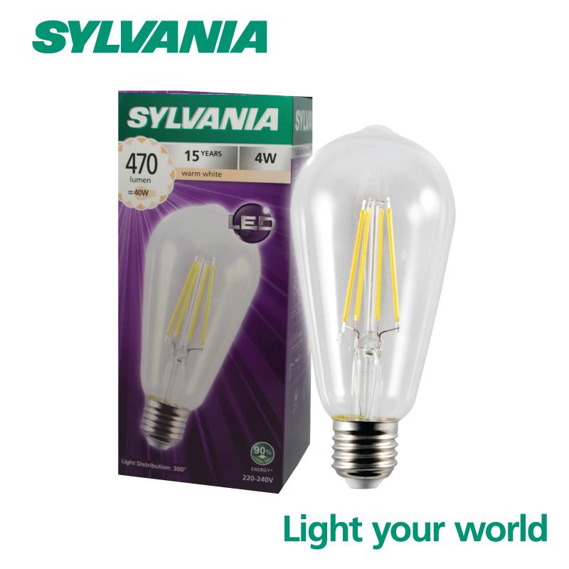 SYLVANIA ToLEDo FIRA ST64 4W E27 แสงวอร์มไวท์
