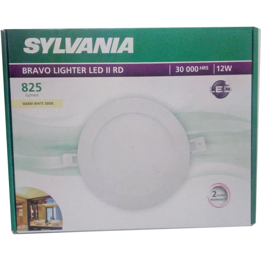 SYLVANIA  ดาวน์ไลท์ BRAVO LIGHTER LED II RD _12 วัตต์ (แสงวอร์มไวท์)