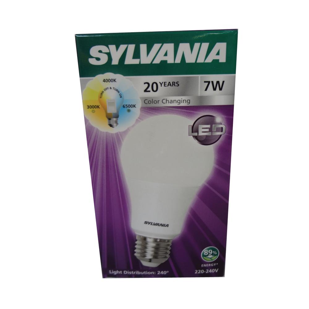 SYLVANIA   LED _ 7  watt model ToLEDo Switch CCT_7W 630Lm _Color switch