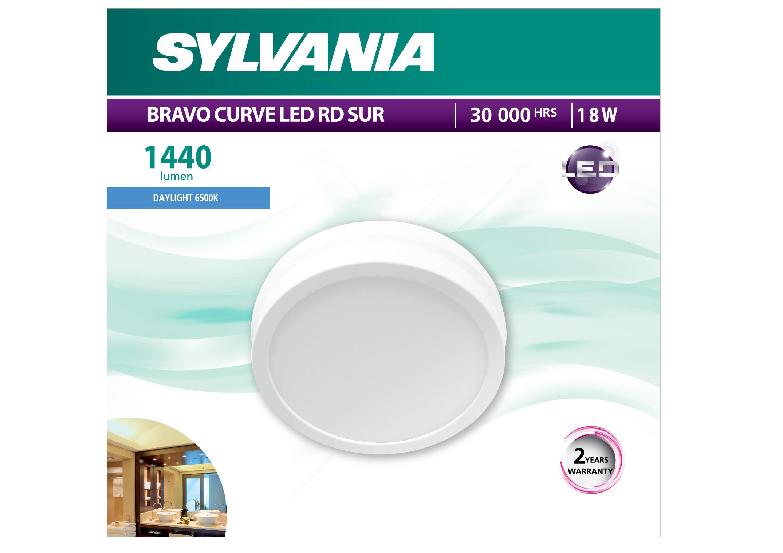 Bravo Curve LED RD SUR 18W (Daylight)