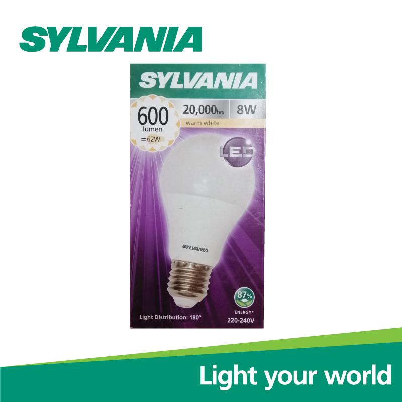 SYLVANIA หลอดไฟ  ToLEDo A60 8W E27 2700K แสงวอร์มไวท์ 20,000 Hrs,