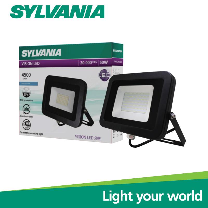 Sylvania LED Floodlight โคมฟลัดไลท์แอลอีดี โคมสปอร์ตไลท์  VISION LED 50W เดย์ไลท์